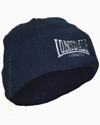 Lonsdale London knitted hat Bobhat 1