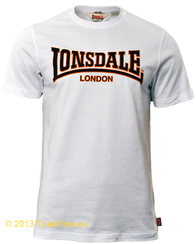 lonsdale london lonsdale slimfit t shirt classic mens. Black Bedroom Furniture Sets. Home Design Ideas