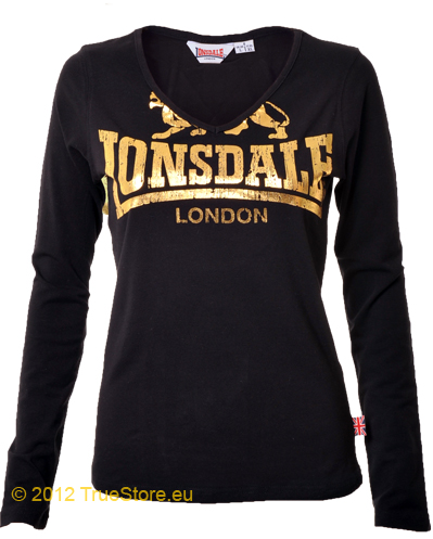 lonsdale ladies long sleeve tee tally ladies t shirts. Black Bedroom Furniture Sets. Home Design Ideas