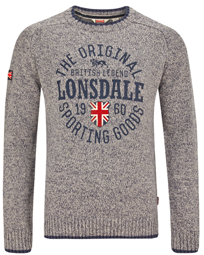 Lonsdale knit pullover Borden 1