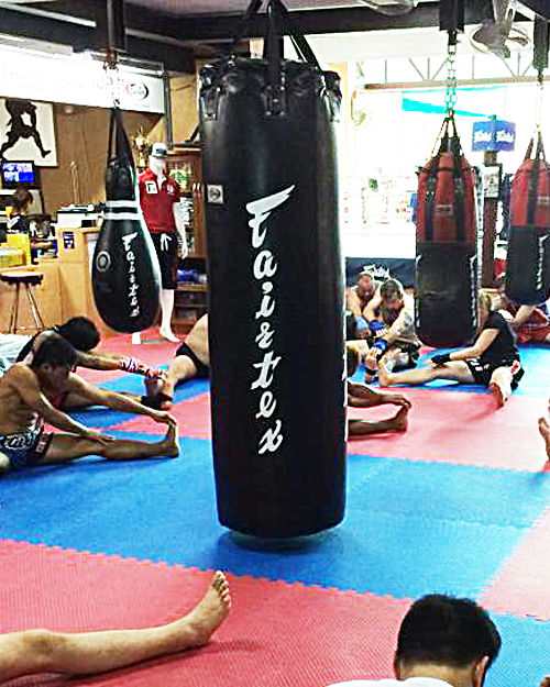 Fairtex HB7 7FT Pole Bag Muay Thai Gear UnFilled