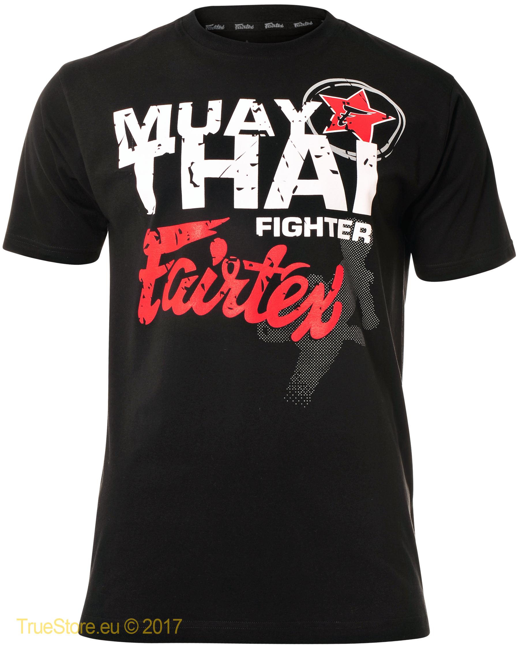Mens T Shirt Thai Fighter Fairtex Muay Fairtex nOwm8vN0