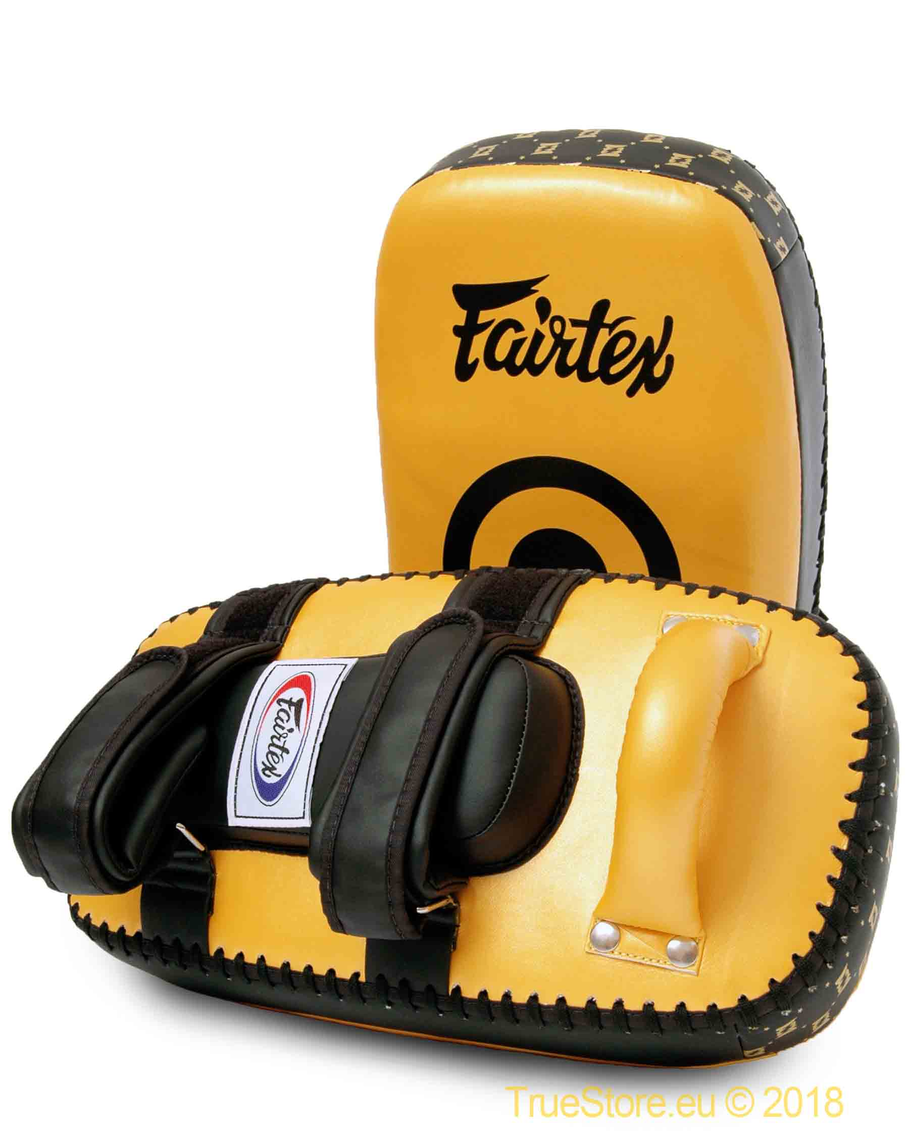 New Fairtex Curved Muay Thai Kick Boxing Kicking Pads KPLC
