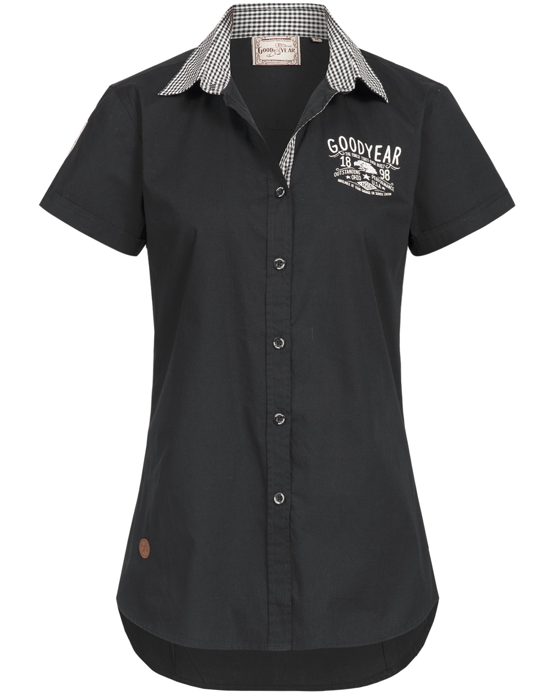 Hemd Kurzarm Garage Hemden Goodyear Vintage Damen A0HqBB