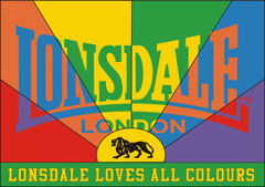 Das Lonsdale Loves All Colour Kampagne Logo