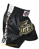 Fairtex Thai Short Black Lace 3