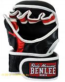 BenLee Leather MMA training gloves Striker 4
