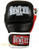 BenLee Leather MMA training gloves Striker 2