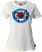 Lonsdale Damen T-Shirt Fulford