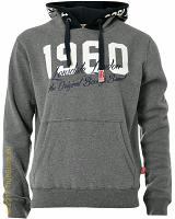 Lonsdale hooded flleece top Marlow