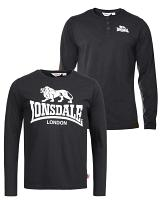 Lonsdale doublepack long sleeve t-shirts Gelston