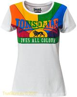 Lonsdale Love All Colours Damen T-Shirt
