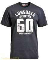 Lonsdale  slimfit t-shirt Reading