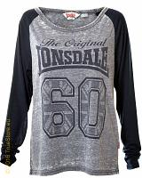 Lonsdale long sleeve crop top Rhynie