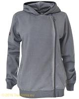 Lonsdale hooded zipper top Roos