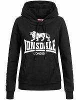 Lonsdale ladies hooded sweatshirt Dihewyd