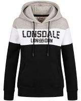 Lonsdale ladies hooded sweatshirt Penbryn