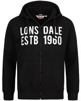 Lonsdale hooded sweatjacket Solfach