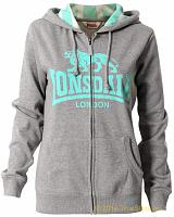 Lonsdale ladies hooded zipper top Sunderland