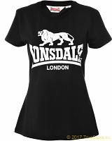 Lonsdale Damen T-Shirt Heather