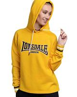 Lonsdale women hooded fleece top Pinhay