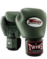Twins Special BGVL3 leather boxing gloves - Military