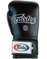 Fairtex Leather Boxing Gloves - Wide Fit (BGV4H) - 18oz