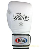 Fairtex Leather Boxing Gloves - Wide Fit (BGV4)