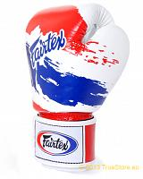 Fairtex Leather Boxing Gloves - Tight Fit - Thai Pride