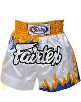 Fairtex Muay Thai short Upside Down Flame