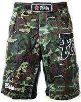 Fairtex Nylon Camo Boardshort (AB7)