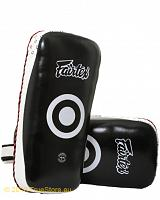 Fairtex Muay Thai Kick Pad - Curved Shape KPLC4 extra long