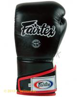 Fairtex Leather Boxing Gloves - Angular Full Velcro BGV6