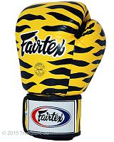Fairtex Leather Boxing Gloves - Tight Fit (BGV1) Tiger