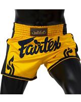 Fairtex Muay Thai Short BS1701 Yellow Satin