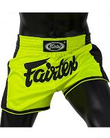 Fairtex thaiboksbroek BS1706 Neon Satin