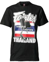 Fairtex TST61 muay thai t-shirt Thaiflag