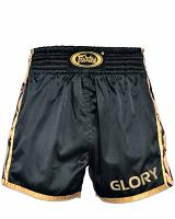 Fairtex BSG1 GLORY fightshorts black/gold