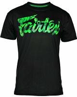 Fairtex TST179 Muay Thai T-Shirt Green Camo