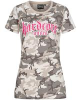Hardcore United Ladies t-shirt Lady Camo