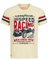 Goodyear Slimfit T-Shirt Speed Racing