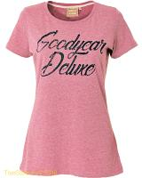 Goodyear ladies t-shirt Cord Deluxe