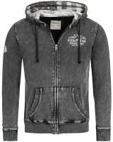 Goodyear ladies hooded zipper fleece top Pinedale