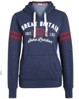 Lonsdale ladies hooded fleece top Epworth