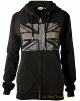 Lonsdale ladies hooded zipper top Hadon Bridge
