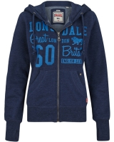 Lonsdale ladies hooded zipper top Staplecross