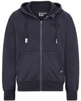 Lonsdale hooded zipper top Burford