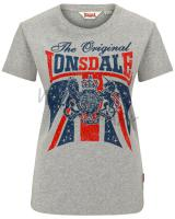 Lonsdale Damen T-Shirt Glastonbury