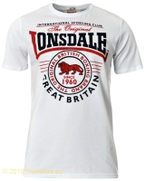 Lonsdale Stretch T-Shirt Great Malvern