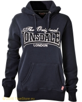 Lonsdale ladies hooded fleece top Lyth